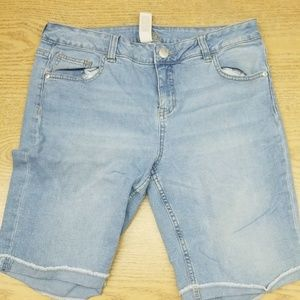 Girls size 16 plus shorts